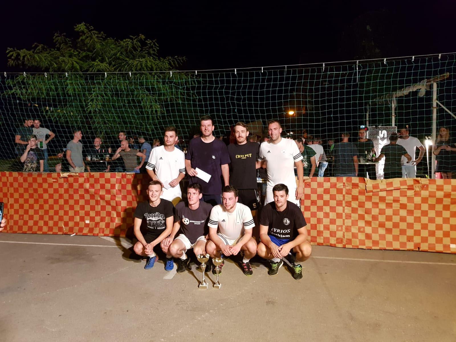 Finalna večer malonogometnog turnira Riva 2018